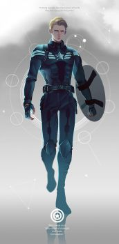 Steve Rogers by ColnChen