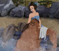 Japanese Hot Spring by DisneyFan-01