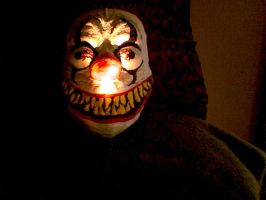 my clown mask by insignificantartist