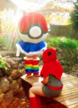 The Prophecy Of The Giant Pokeball by Espeakus