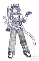 Gun-toting Informant - Clair by Typhoon-Compass