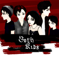 Goth Kids by Oyakiss
