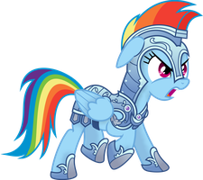 Knight Rainbow Dash by spier17