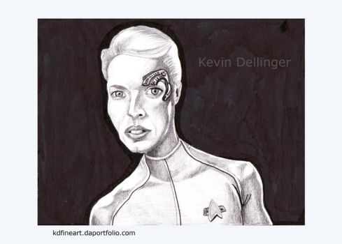Seven of Nine from Voyager by ilikecokekd
