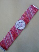 Strawberries and Cream watch by Autumn-beads