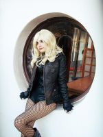 Black Canary by IssssE