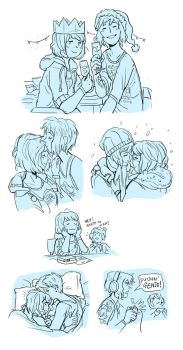 Pricefield Xmas Sketch Dump (by Mollifiable) by Destiny-Smasher