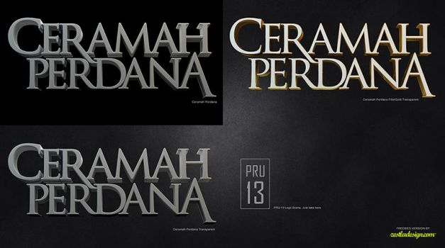 Ceramah Perdana Freebies Version by zestlad85