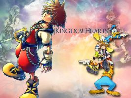 Kingdom Hearts Wallpaper by ChelseaDawn