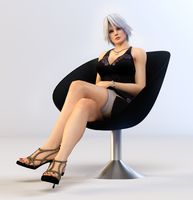 Christie 3DS Render 5 by x2gon