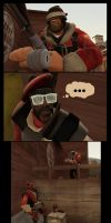 TF2: ''Catch'' new friend ( and beer ) by Bielek