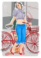 zooey bicycle by qbenk