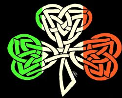 Celtic shamrock irish flag 2 by PeAcE-88