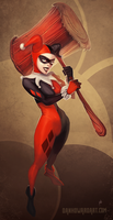 Harley by DanHowardArt