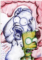 Like Homer Like Bart by LeeRoberts