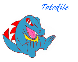 Totodile by ResidentEvilhunters