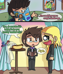 Science Bros Ask 25 by ecokitty