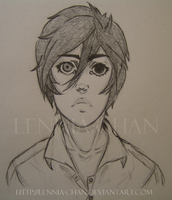 Tried to force out a bishie 8D by Lennia-chan