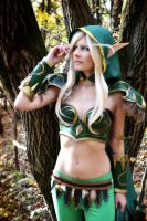 Alleria Windrunner by IllumAdora