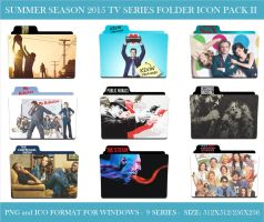 2015 Summer Season (Tv Series Folder Icon Pack II) by Llyr86