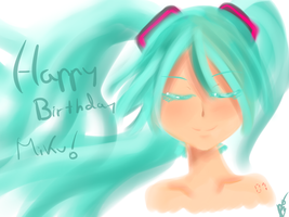 Happy birthday Miku ! 2 by tobimola