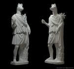 ZBrush Greek statue by AlexanderLee1