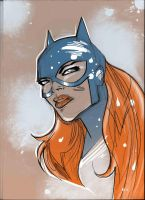 BATGIRLsketch200050 by JohnyBlazzze