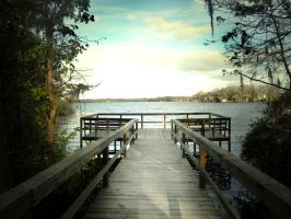 Lake Dock by subliminalheart