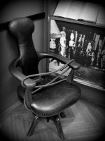 House of the Freud Museum. Chair. Vienna ... by DemonSD