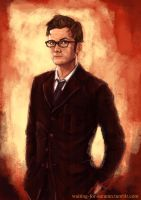 The tenth Doctor by AnodineduLac