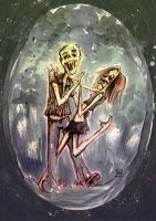 undead can dance.. by neurotic-elf
