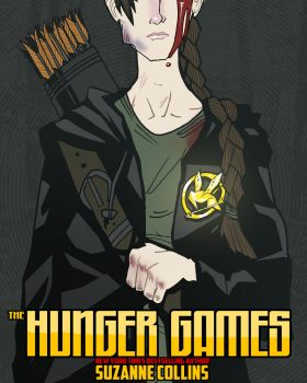 The Hunger Games Fan-Cover by ScarecrowArtist
