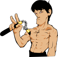 Bruce Lee by jmont