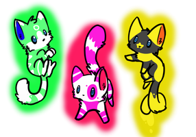 Cat Adoptables-CLOSED by Wolfies--Adopts