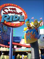 Simpsons Ride by IsabellaPrice