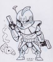 Captain Rex by MARR-PHEOS