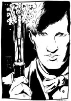 !1th Doctor in Ink by inside-seans-head