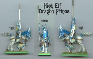 High Elf Miniature by Magelet
