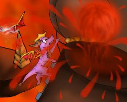 Magma Cone by Dragon-In-A-Blue-Box