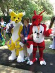 Guilmon and Renamon by MysticSkullivine