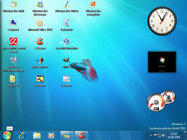Xp desktop Win7RC Style by PeterRollar