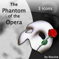 The Phantom of the Opera Icons by XSV