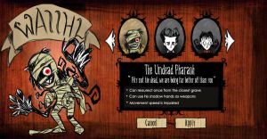 Don't Starve Character Meme by GhostlyMuse
