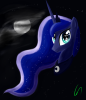 Luna Portrait by Greeny-Nyte