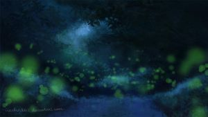 Fireflies by nadinkas