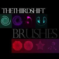 :NEW BRUSHES: by thethiirdshift