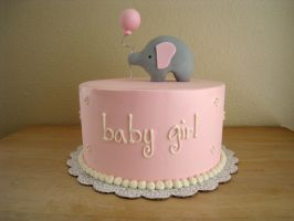 Elephant Baby Shower by Kiilani