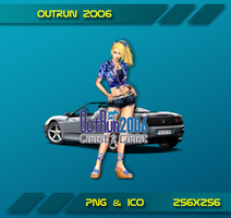 Outrun 2006 Dock Icon by Dohc-WP