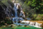 Kuang Si Waterfall by DrewHopper