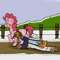 Somewhere... 16 - Pinkie is a drag by petirep